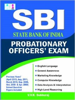 sbi probationary officer exam solved papers