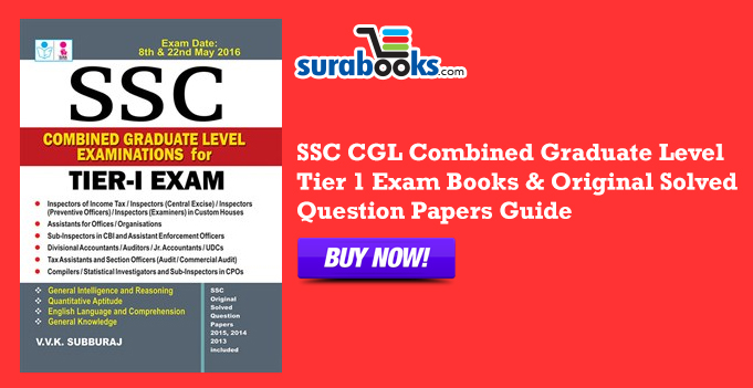 Best book for ssc cgl tier 1 exam answers