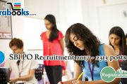 SBI Recruiting  Probationary Officer Posts 2017 – 2313 Openings