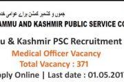 JKPSC Recruiting Medical Officer Job Posts 2017