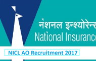 NICL Recruiting Administrative Officers (AO) (Scale-I) Job Posts 2017