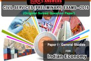 SURA'S Answers – Civil Services Preliminary Exams 2016 : Indian Economy – Download as PDF
