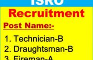 ISRO MCF Recruiting Technician, Technical Assistant Job posts 2017