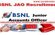 BSNL JAO Recruitment 2017 996 Junior Accounts Officer Posts