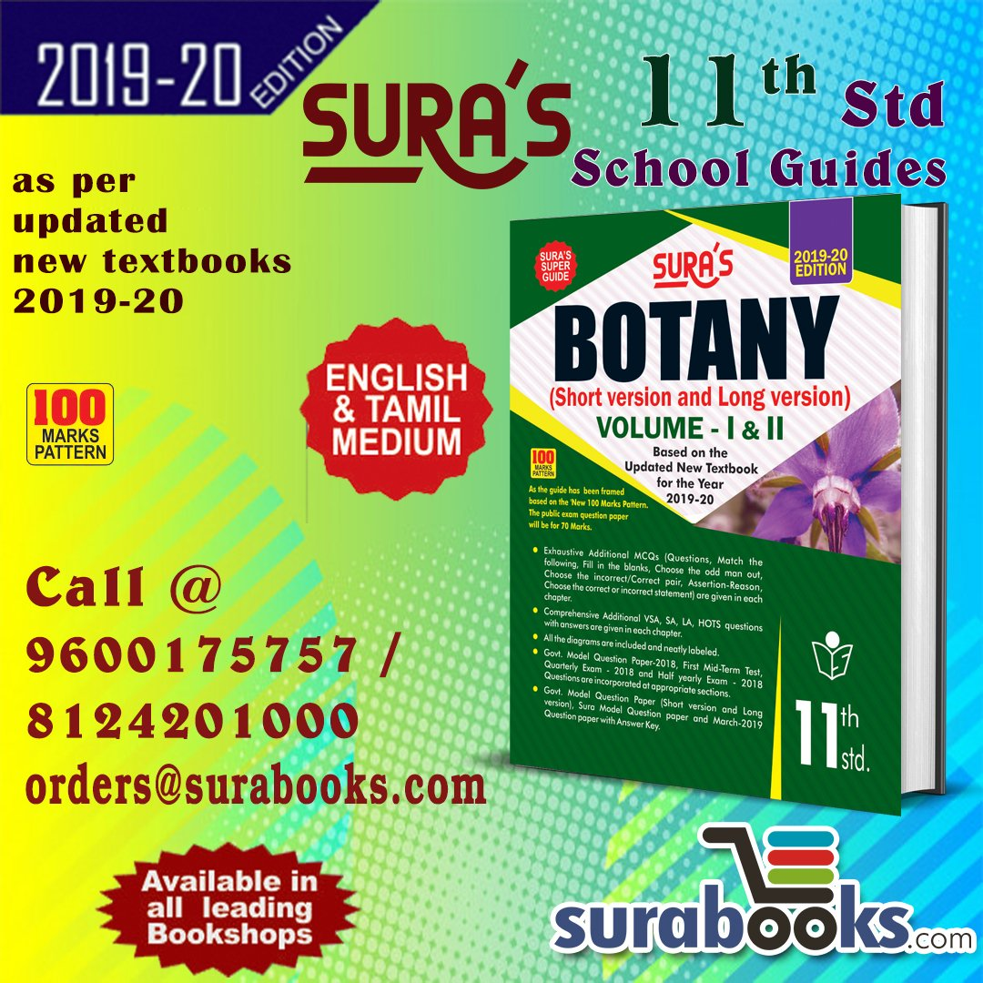 11th Std Botany Guide
